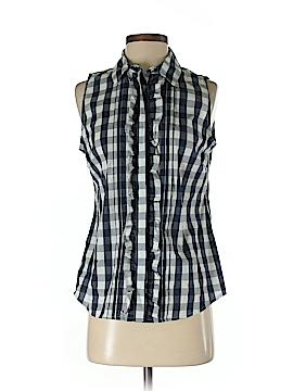 Tommy Hilfiger Sleeveless Button-Down Shirt Size XS