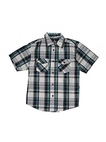 Airwalk Short Sleeve Button-Down Shirt Size 10
