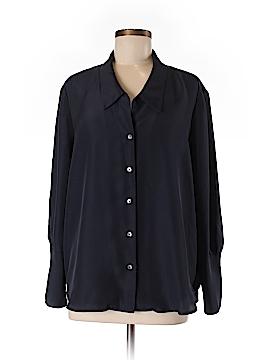 Nic + Zoe Long Sleeve Blouse Size L