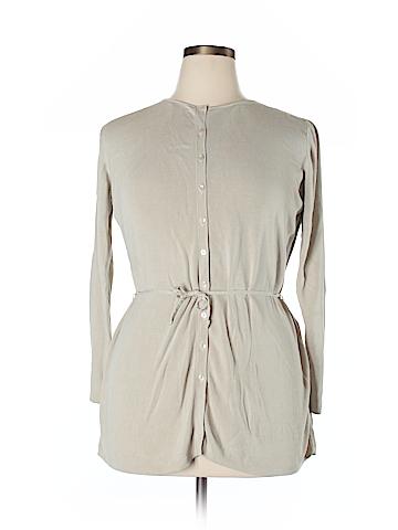 Ann Taylor LOFT Silk Cardigan Size XL