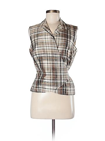 Ann Taylor Sleeveless Silk Top Size 8