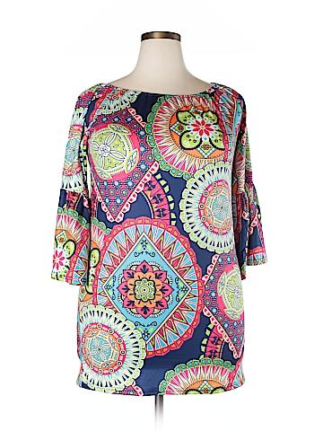 Unbranded Clothing  3/4 Sleeve Blouse Size XXL