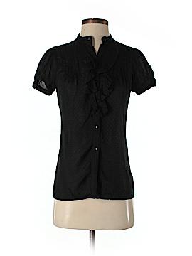 Zara TRF Short Sleeve Button-Down Shirt Size XS