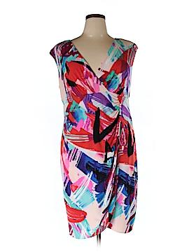 London Times Casual Dress Size 16 (Plus)