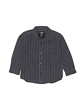 Quiksilver Long Sleeve Button-Down Shirt Size M (Tots)