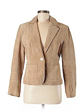 New York & Company Leather Jacket Size 8