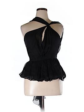 Leon Max Sleeveless Silk Top Size 12