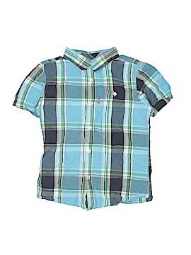 Levi's Short Sleeve Button-Down Shirt Size 8 - 10