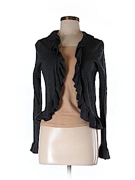 Vertical Design Wool Cardigan Size M