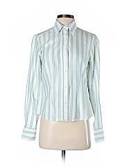 J. McLaughlin Women Long Sleeve Button-Down Shirt Size 4