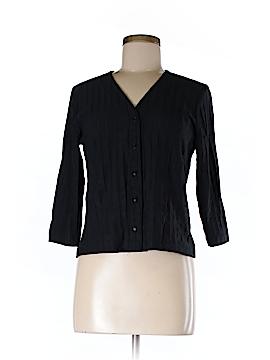 Andria Lieu 3/4 Sleeve Button-Down Shirt Size M