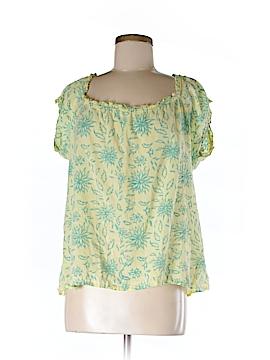 Liza Byrd Short Sleeve Blouse Size M