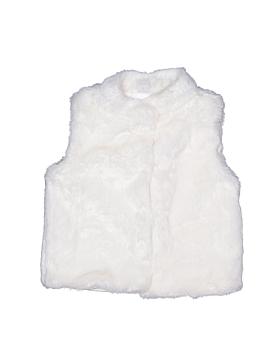 Carter's Faux Fur Vest Size 6