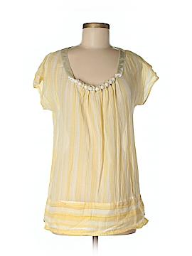 Charlotte Ronson Short Sleeve Blouse Size S