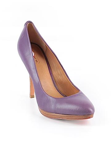 Coach Heels Size 9 1/2