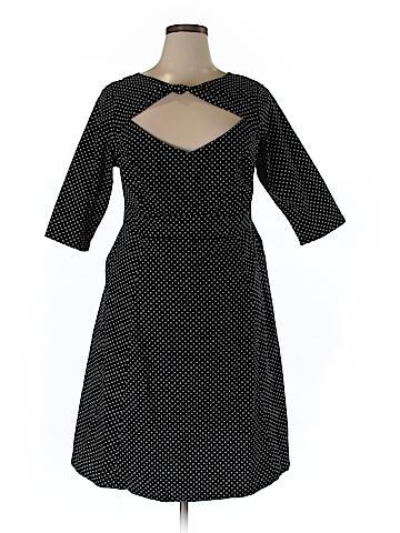Cherry Velvet Casual Dress Size XL