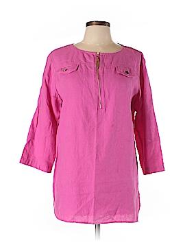 Ellen Tracy 3/4 Sleeve Blouse Size L