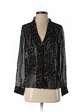 Eliot Long Sleeve Silk Top Size XS
