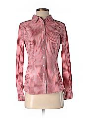Guess Women Long Sleeve Button-Down Shirt Size S