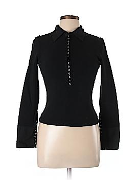 ABS Allen Schwartz Long Sleeve Polo Size L