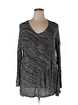 Cynthia Rowley 3/4 Sleeve Top Size 1X (Plus)