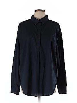 Universal Standard Long Sleeve Button-Down Shirt Size L (Plus)