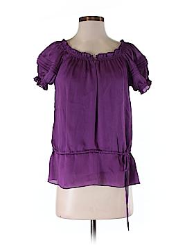 I.N. Studio Short Sleeve Blouse Size M (Petite)