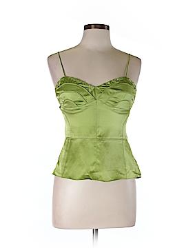Lia Kes Sleeveless Silk Top Size 10