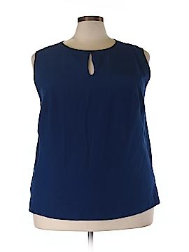 Enlo Short Sleeve Blouse Size 24W (Plus)