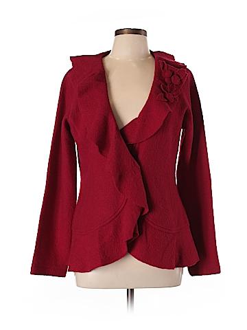 Cynthia Rowley for T.J. Maxx Wool Cardigan Size L
