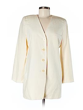 Linda Allard Ellen Tracy Silk Blazer Size 6