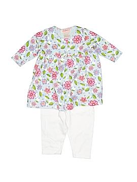 Zutano 3/4 Sleeve Button-Down Shirt Size 0-3 mo