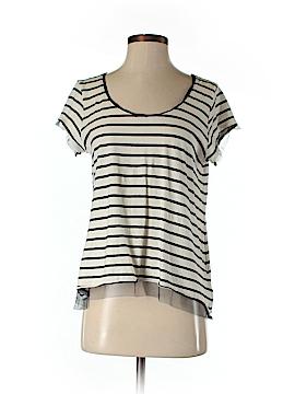 Pilcro and The Letterpress Women Short Sleeve Blouse Size S