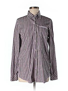 Sisley Long Sleeve Button-Down Shirt Size M