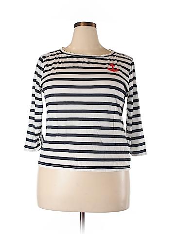 J. Crew 3/4 Sleeve T-Shirt Size XL