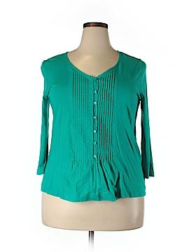 Jones New York Sport 3/4 Sleeve Top Size XL