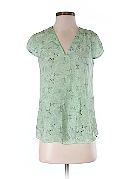 Bimba & Lola Short Sleeve Silk Top Size M