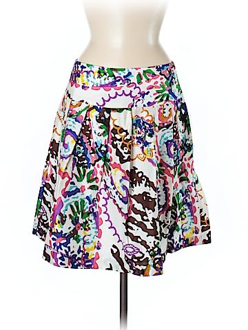 Boston Proper Silk Skirt Size 8