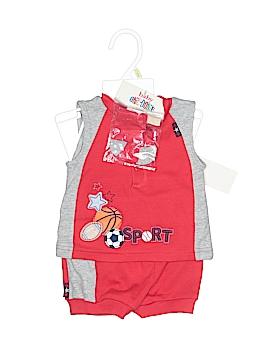 Baby Okie Dokie Short Sleeve Henley Size 0-3 mo
