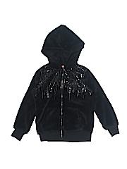 Arizona Jean Company Girls Zip Up Hoodie Size 7 - 8