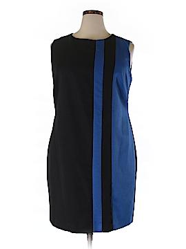 Ellen Tracy Casual Dress Size 16 (Plus)