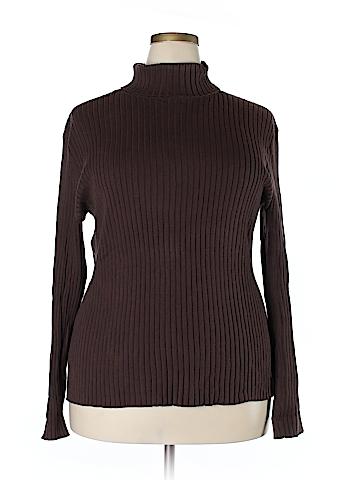 Chadwicks Turtleneck Sweater Size 2X (Plus)