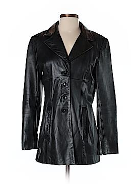 Bebe Leather Jacket Size S