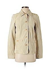 Eddie Bauer Women Leather Jacket Size S