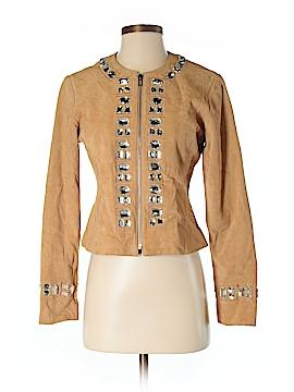 Boston Proper Leather Jacket Size 4