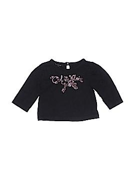 CALVIN KLEIN JEANS Long Sleeve T-Shirt Size 6-9 mo
