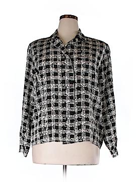 Jacqueline Ferrar Long Sleeve Blouse Size 14