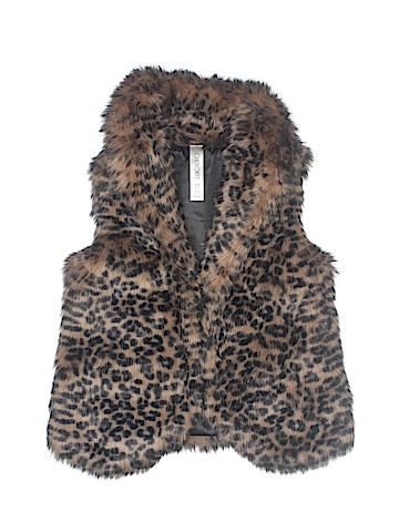 Cherokee Faux Fur Vest Size 6 - 7