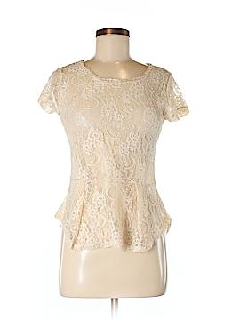 Delia Short Sleeve Top Size M