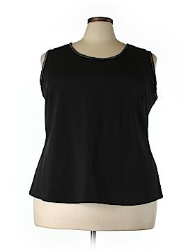 Jete Sleeveless Blouse Size 3X (Plus)